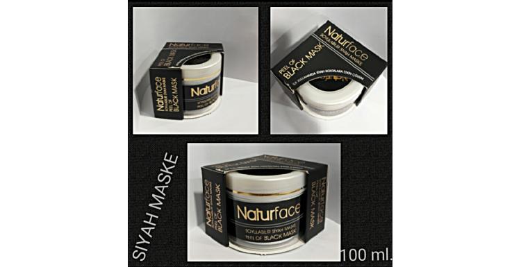 NATURFACE BLACK MASK